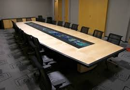 Desk With Outlets by Custom Wood Conference Room Tables Hardroxhardrox