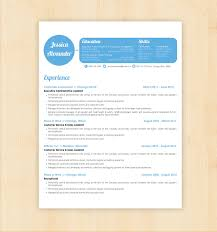 Resume Microsoft Word Templates Free Resume Templates Cv Template Minimalistic Style For