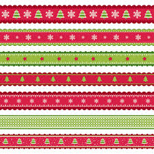 christmas pattern red green 2016 christmas borders seamless vector 05 vector christmas free