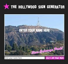 Text Meme Maker - the hollywood sign generator i m sean mulholland strategist creator