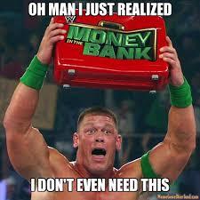 John Cena Meme - john cena s clean ppv losses considered headside