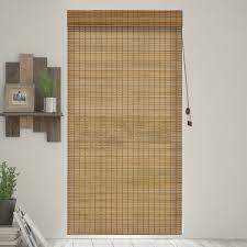 amazon com chicology bamboo roman shades wood window blind