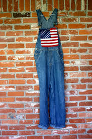 American Flag Jeans Diy American Flag Overalls Merry