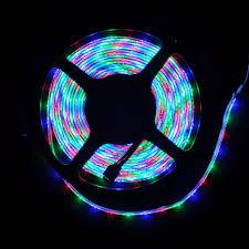 blue led strip lights 12v waterproof flexible color chasing led strip lights w ir remote