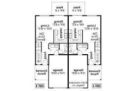 duplex plans 3 bedroom duplex that looks like single family bedroom plans for narrow lots