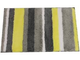 Bathroom Yellow And Gray - yellow and gray bathroom rugs u2013 home design and decorating