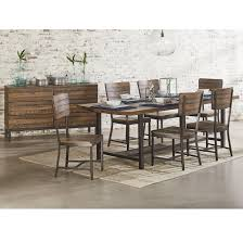 magnolia home by joanna gaines industrial industrial dining room