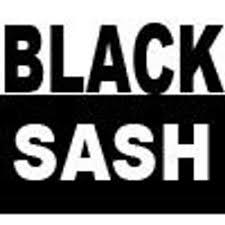 black sash black sash black sash