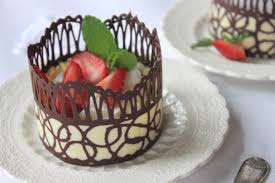 where to buy chocolate dessert cups how to make chocolate lace dessert cups