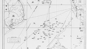 sea of map south china sea the line on a 70 year map that threatens to
