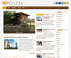 html layout under reflexa free wordpress theme css css3 free html html5
