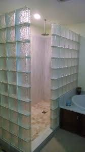 bathroom glass block shower design ideas glass block window
