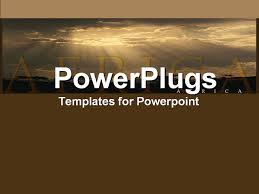 africa powerpoint template template design