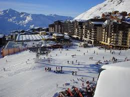 val thorens highest ski resort in europe beautiful tourism