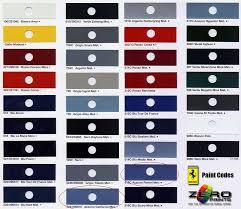 f355 colors ferrari life