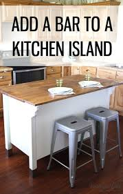how to add a kitchen island kitchen island kitchen island with overhang adding a bar to