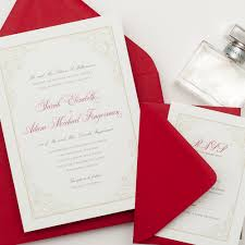 White And Gold Wedding Invitation Cards Red Gold And White Wedding Invitations Popular Wedding