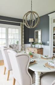 the dining room wall color is called spalding gray by sherwin