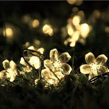 Amazon Outdoor Lighted Christmas Decorations by 105 Best Solar String Lights Images On Pinterest Solar String