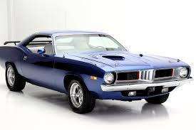 V8 Muscle Cars - 1973 plymouth barracuda v8 cuda american dream machines