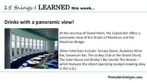 Grand Hotel Cupola Bar 15 Things I Learned This Week About Mackinac Island U0027s Grand Hotel