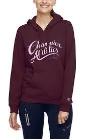 champion authentic script hoodie c398