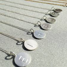 Cheap Personalized Necklaces Wholesale 2016 New Letter A M Necklace Silver Initial Necklaces