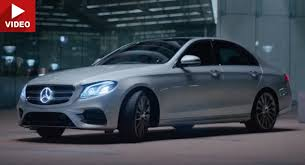 mercedes e class mercedes e class tv spots focus on autonomous developments