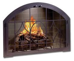 Fireplace Screens Glass Doors by Fireplace Doors Design Specialties Legend Arch Custom Made Glass
