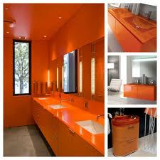 orange bathroom ideas gorgeous burnt orange bathroom 17 burnt orange and brown bathroom