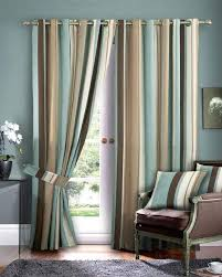Green And Beige Curtains Beautiful Blue And Brown Curtains Curtain Pinterest Striped Beige