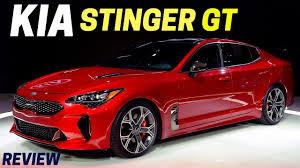new 2018 kia stinger gt specs first look 255 horsepower u2014 2017