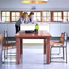Table A Manger A Rallonge by Table En Bois Massif Pas Cher Tables Bois Et Metal Tikamoon