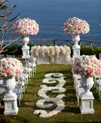 Garden Wedding Ceremony Ideas Garden Wedding Decorations Pictures Garden Wedding