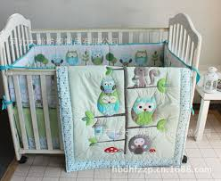 Cot Bedding Set Wholesale Happy Owls And Friends Baby Crib Bedding Set Cot