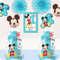mickey mouse 1st birthday mickey mouse 1st birthday party supplies birthday in a box