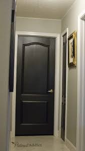 new interior doors for home painting the interior doors black black interior doors interior
