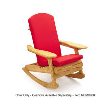 Patio Wooden Chairs Patio Wooden Adirondack Rocking Chair