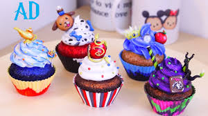 disney descendants art cupcakes youtube