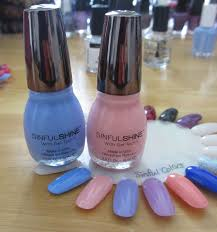 new sinful colors sinfulshine nail polish review youtube
