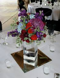 Square Vase Flower Arrangements Brown Bunny Flowers September 3 2011 Stephanie And Jon U0027s Wedding