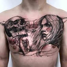 chest tattoos best ideas gallery