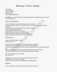 Sample Resume For Teller by 100 Sample Resume For Bank Teller With No Experience Cover