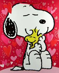 snoopy valentines day snoopy s day gift bag snoopn4pnuts