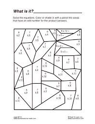 Multiplication Coloring Printable Middle School Math Worksheets Coloring Pages Middle School