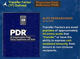 What Is A Physicians Desk Reference 4life Transfer Factor Aparecen Desde El 2003 En El Physicians