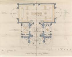 Library Floor Plan Design by Drawing Design For A Small Library Front Elevation Section