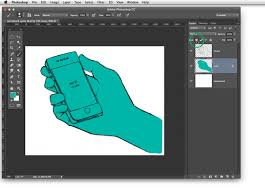 coloring lineart in photoshop u2013 visualhero design