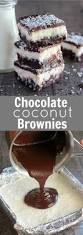 chocolate coconut brownies recipe smooth foodies and tes