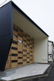 takeshi shikauchi u0027s small house features two residences in one